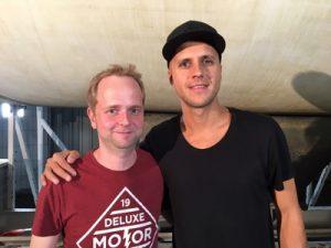 Milow ist ein sehr entspannter Interview-Partner